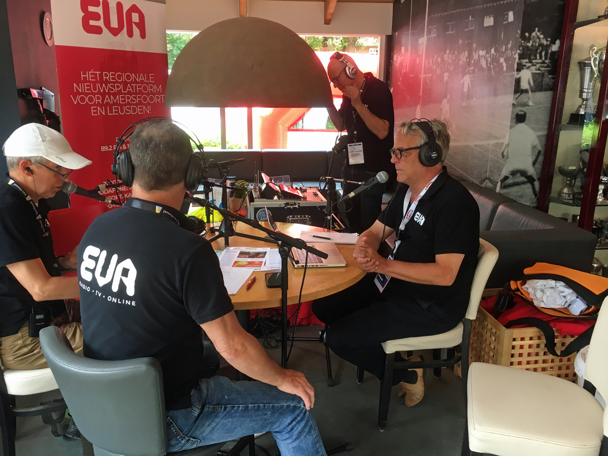 EVA Sport Radio Van Mossel Kia Dutch Open