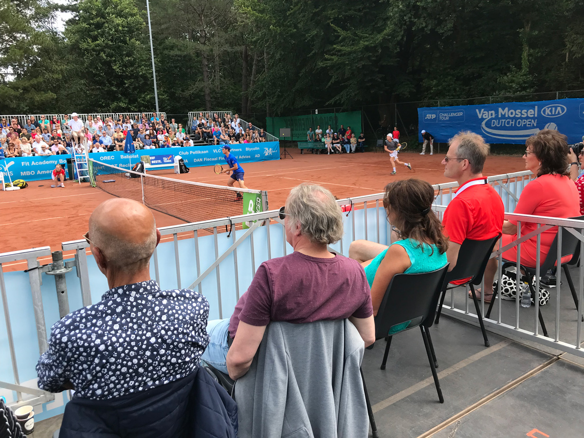 Heren finale Van Mossel Kia Dutch Open