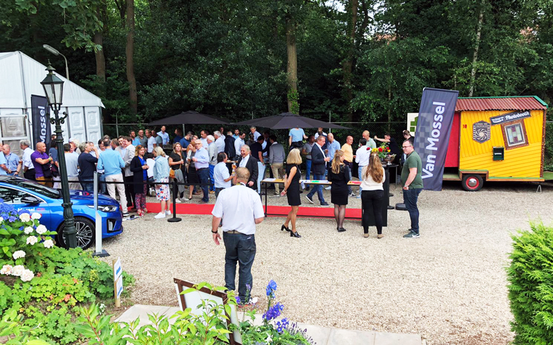 VIP-arrangement Van Mossel Kia Dutch Open